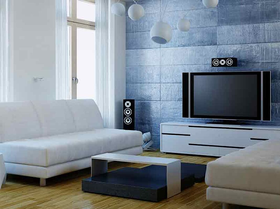 living room multimedia automation